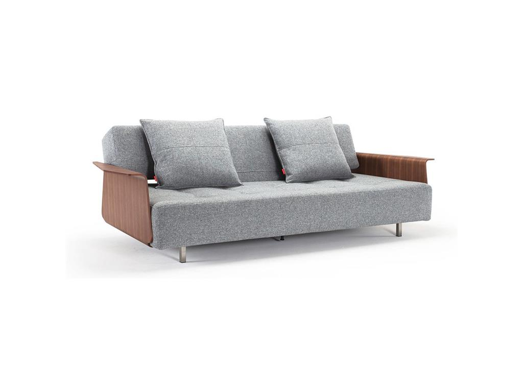 Innovation schlafsofa long horn granit twist inkl for Schlafsofa ausklappen